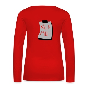 hello there how are you?  I am good.  thanks for asking.  and yourself? - Women's Premium Longsleeve Shirt