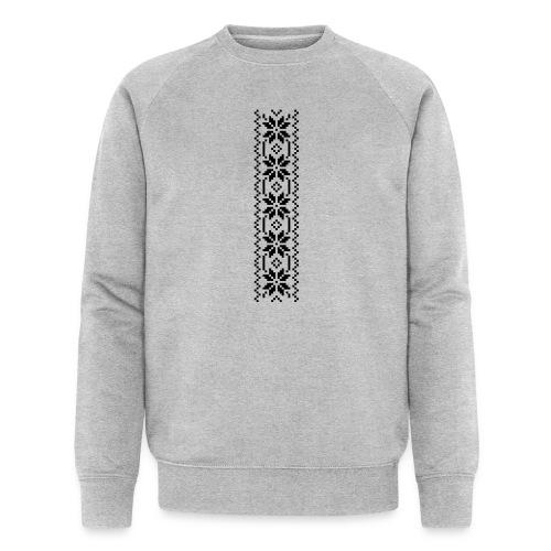 Selbu mønster 1-1 - Økologisk sweatshirt for menn fra Stanley & Stella