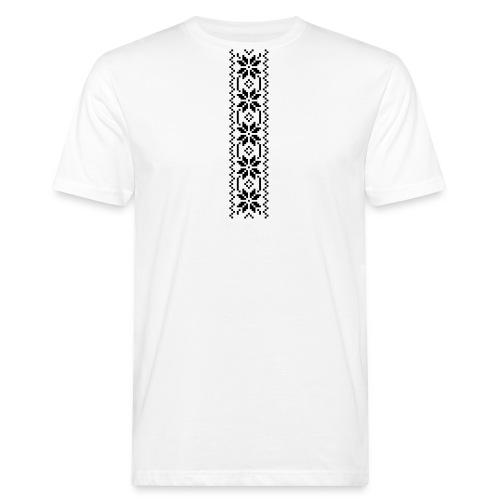 Selbu mønster 1-1 - Økologisk T-skjorte for menn