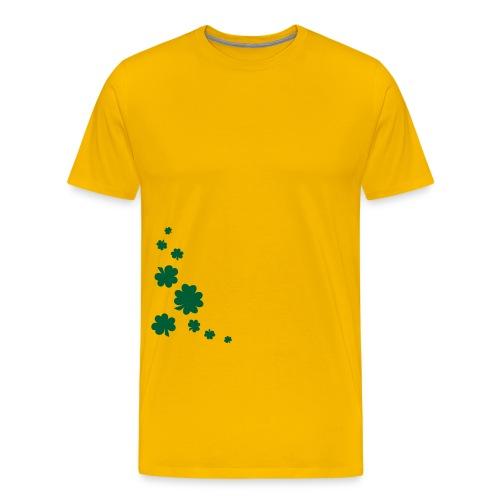 Shamrocks - Männer Premium T-Shirt