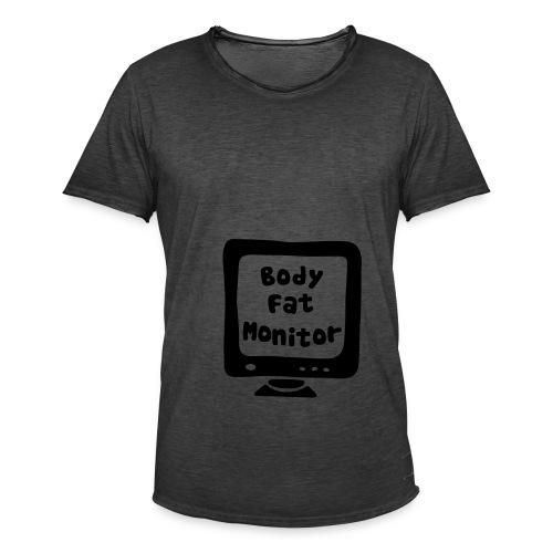 BodyFatMonitor - Männer Vintage T-Shirt