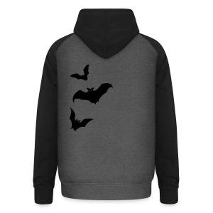 Bats - Unisex Baseball Hoodie