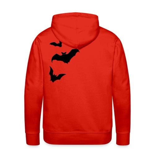 Bats - Rückenmotiv - Männer Premium Hoodie