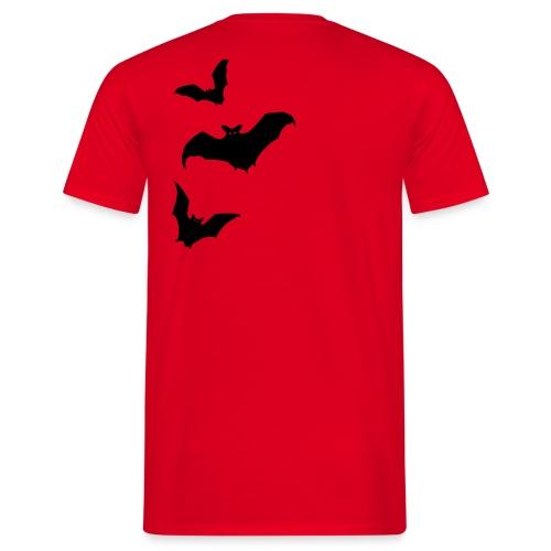 Bats - Rückenmotiv - Männer T-Shirt