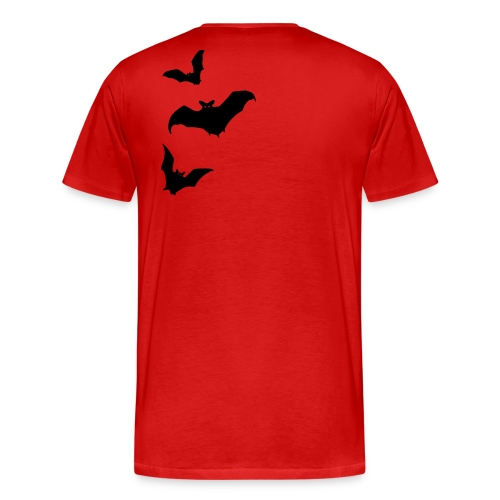 Bats - Rückenmotiv - Männer Premium T-Shirt