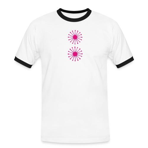 Skummetmelk - Kontrast-T-skjorte for menn