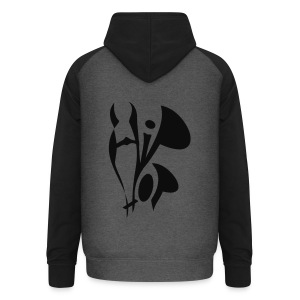 shirt hiphop mk style - Unisex Baseball Hoodie