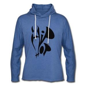 shirt hiphop mk style - Leichtes Kapuzensweatshirt Unisex