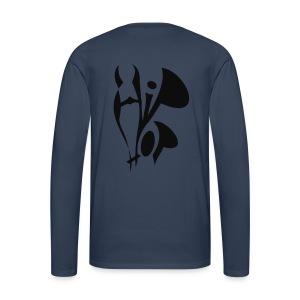 shirt hiphop mk style - Männer Premium Langarmshirt
