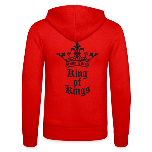 K.O.K.-red|white (Girls) - Unisex Kapuzenjacke von Bella + Canvas