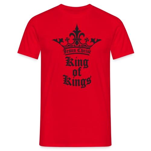 K.O.K.-red|white (Girls) - Männer T-Shirt