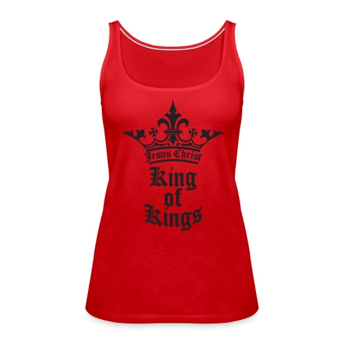 K.O.K.-red|white (Girls) - Frauen Premium Tank Top