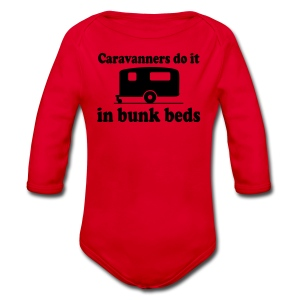 Caravanners do it in bunk beds - Longlseeve Baby Bodysuit