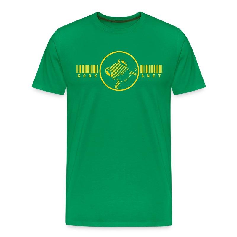 barcode frosch T - Männer Premium T-Shirt