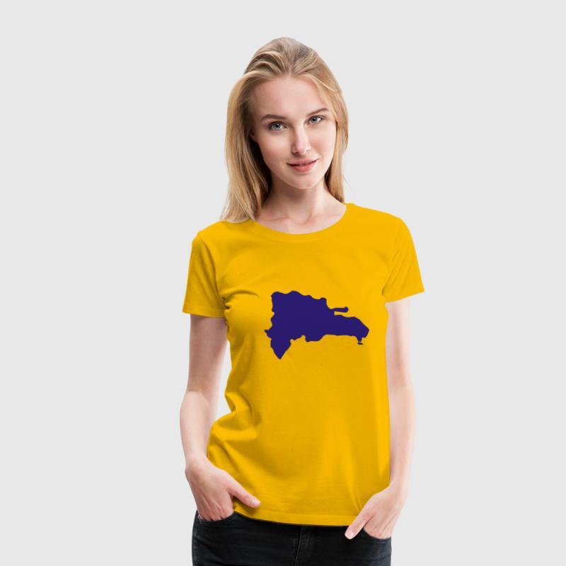 Hellrosa Dominikanische Republik T-Shirts - Frauen Premium T-Shirt