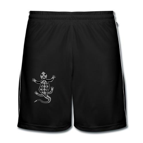 shirt eidechse aborigines style - Männer Fußball-Shorts