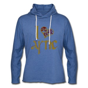 I Love ASNC Women's Shirt - Light Unisex Sweatshirt Hoodie