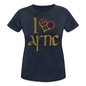 I Love ASNC Women's Shirt - Women's Breathable T-Shirt
