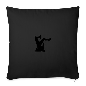 Faceplant - Sofa pillow cover 44 x 44 cm