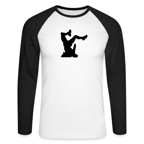 Faceplant - Men's Long Sleeve Baseball T-Shirt