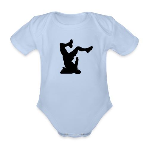 Faceplant - Organic Short-sleeved Baby Bodysuit