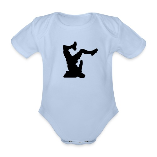 Faceplant - Organic Short-sleeved Baby Bodysuit