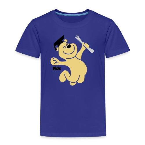 Diplombär,basic w blau - Kinder Premium T-Shirt