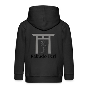Rakudo Perl T-Shirt Damen - Kinder Premium Kapuzenjacke