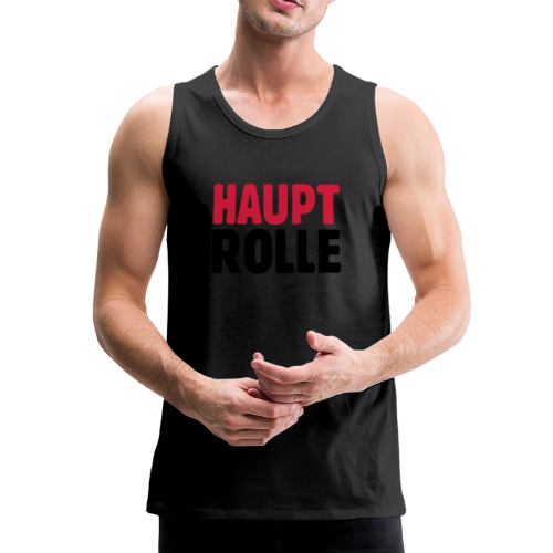 Hauptrolle T-Shirt - Männer Premium Tank Top