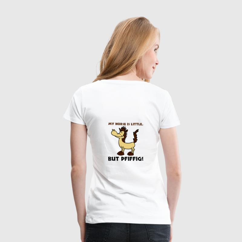 Weiß Little, but pfiffig T-Shirts - Frauen Premium T-Shirt
