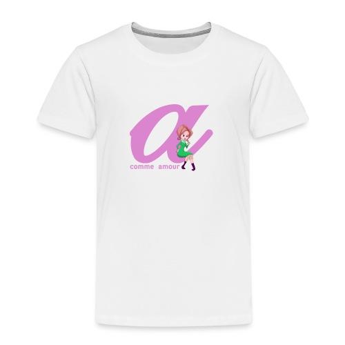 T-Shirt Classique Femme Lettrix - T-shirt Premium Enfant