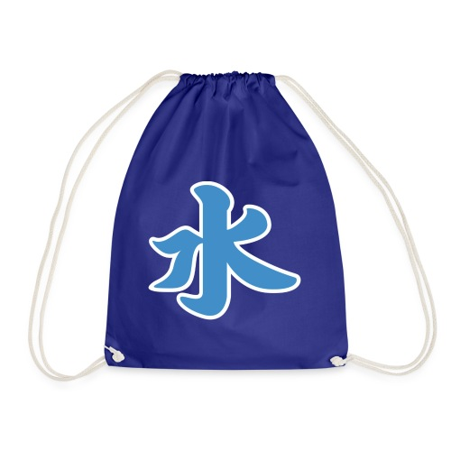 Water pictogram in Chinese - Drawstring Bag