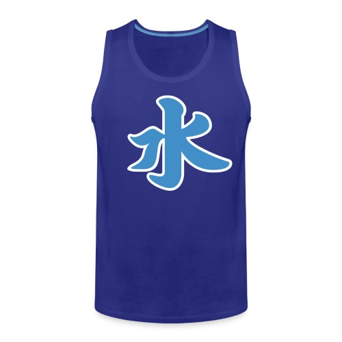 Water pictogram in Chinese - Men's Premium Tank Top