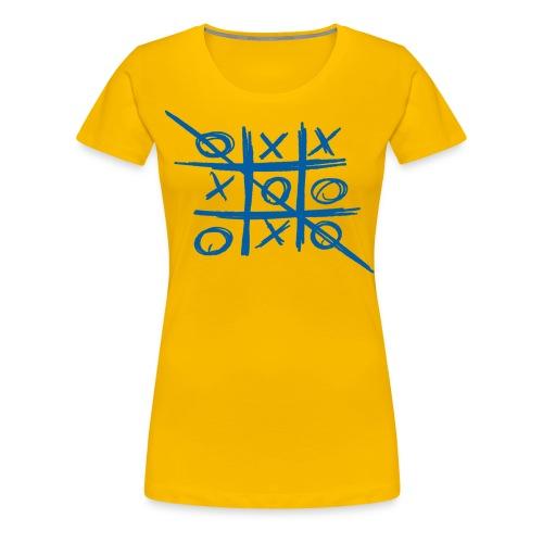 Tic-tac-toe or Tris - Women's Premium T-Shirt