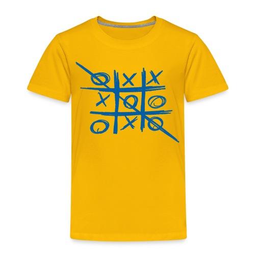 Tic-tac-toe or Tris - Kids' Premium T-Shirt