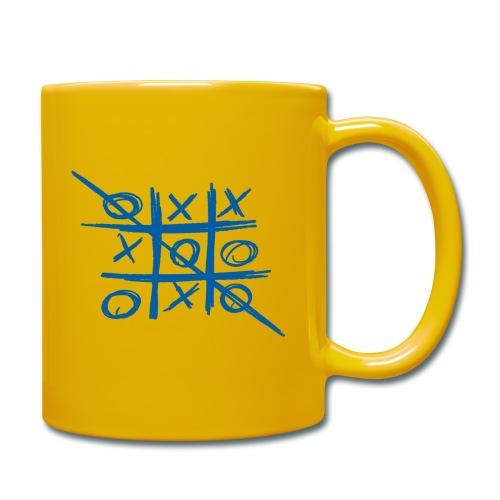 Tic-tac-toe or Tris - Full Colour Mug