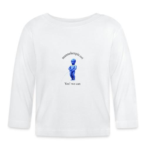 YES WE CAN mannekenpis |♀♂ - T-shirt manches longues Bébé