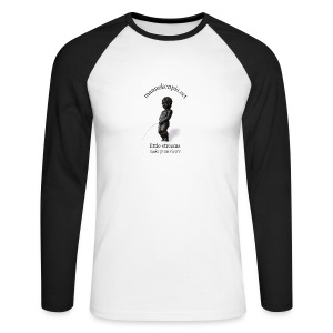 REAL MANNEKENPIS - T-shirt baseball manches longues Homme