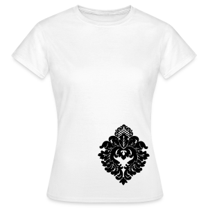 Standard-DA-Shirt - Ornament schwarz   - Frauen T-Shirt