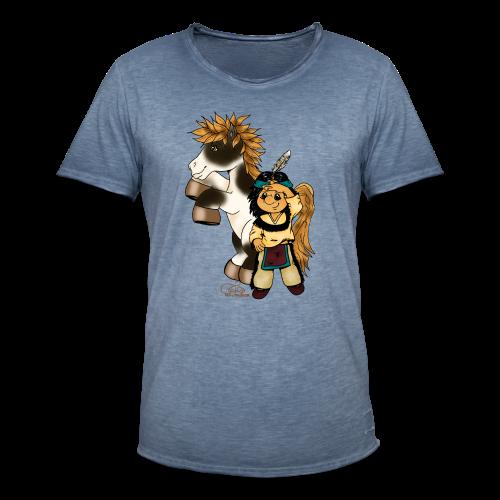 Präriefreunde - Männer Vintage T-Shirt