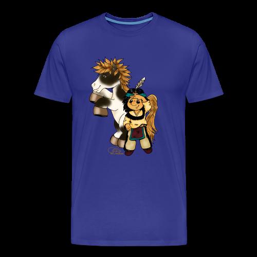 Präriefreunde - Männer Premium T-Shirt