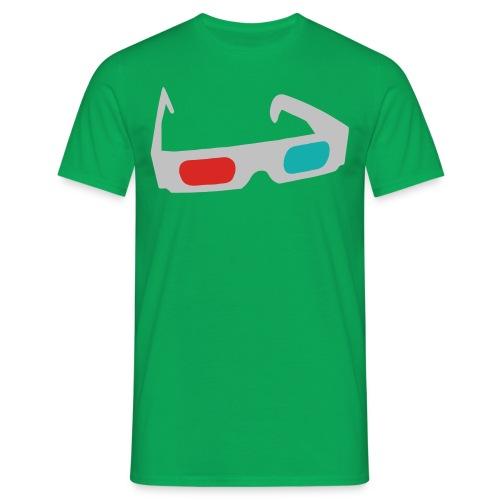 3D Green - Maglietta da uomo