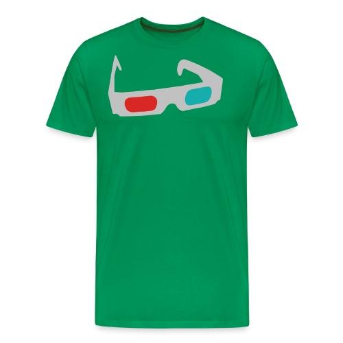 3D Green - Maglietta Premium da uomo