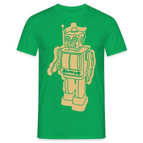 Robot Green - Maglietta da uomo