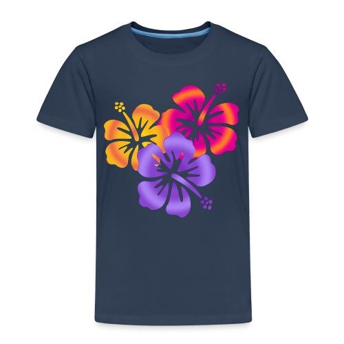 HIBISCUS DRILLING | Frauenshirt XXXL - Kinder Premium T-Shirt