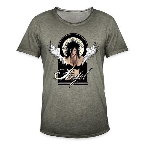 Dark  AngeI - Mannen Vintage T-shirt