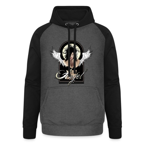 Dark  AngeI - Unisex baseball hoodie