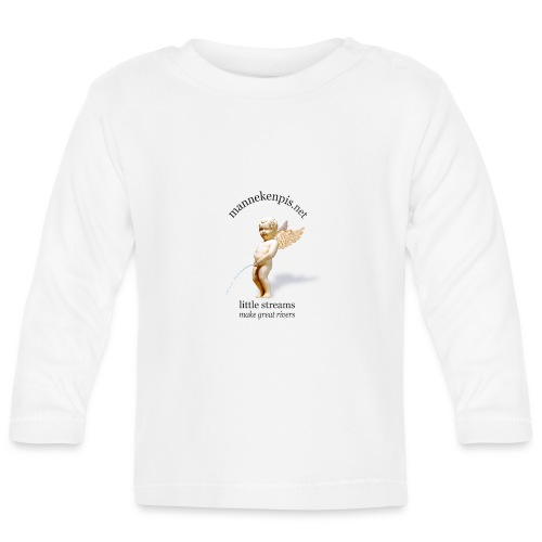 ANGE mannekenpis |♀♂ - T-shirt manches longues Bébé