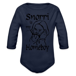 Snorri is my Homeboy Women's - Longsleeve Baby Bodysuit