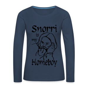 Snorri is my Homeboy Women's - Women's Premium Longsleeve Shirt